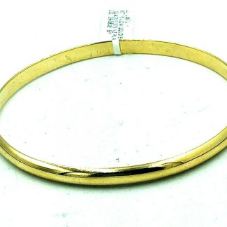 9ct Solid Yellow Gold Bangle