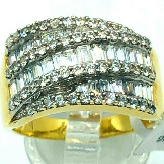 18ct Yellow Gold Designer Ring