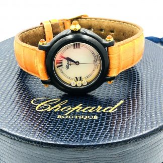 Chopard 'Be Happy' Geneve Watch