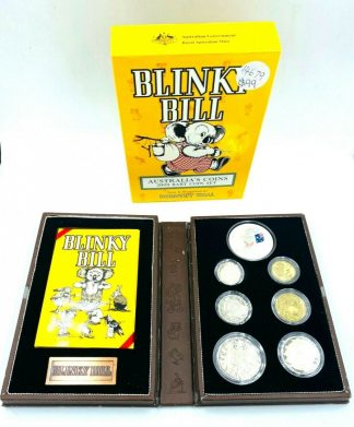 "Australian Royal Mint ""Blinky Bill"" 2009 Baby Coin Set"