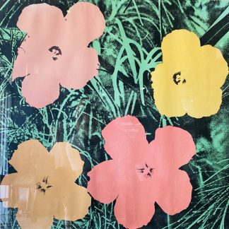 Andy Warhol 'Flowers' 1965 Lithograph