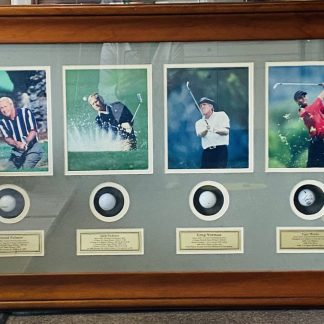 'Golf Greats' Sporting Memorabilia