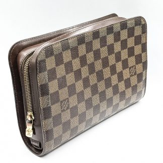 Louis Vuitton Saint Louis Damier Ebene Clutch