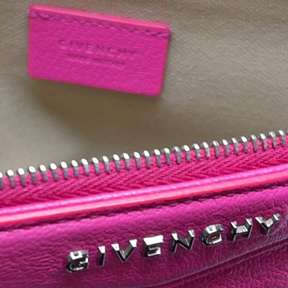 Givenchy Antigona Medium Leather Pouch Bag