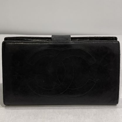 Chanel Long Leather Wallet