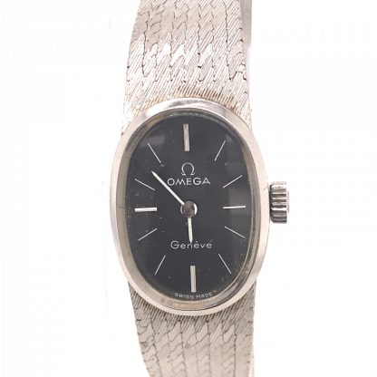 Omega 18ct White Gold Vintage Watch