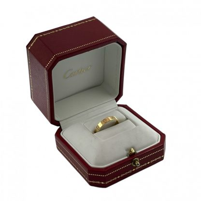 18ct Cartier Love Ring Yellow Gold Size 54