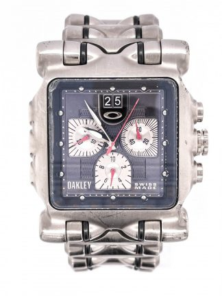 Oakley 10-193 Minute Machine Chronograph Watch - Titanium Edition