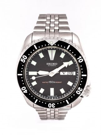 Seiko SKX007 Vintage Automatic Diver's SS Watch
