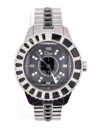 Dior SS & 60 Diamond Watch - Christal CD113115
