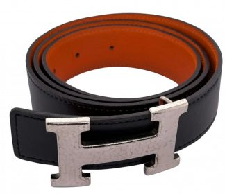 Hermes H Logo Reversible Belt