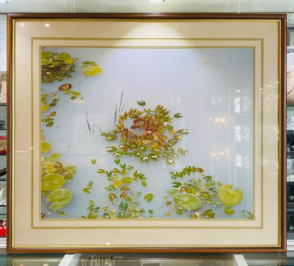 Peter Jarver 'Waterlillies' 1985 Limited Edition of 50