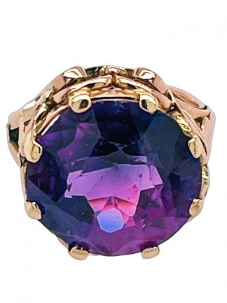 9ct Yellow Gold Sapphire Ring