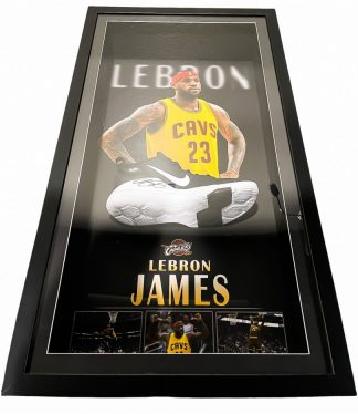 Lebron James Signed Boot Cleveland Cavaliers NBA Memorabilia