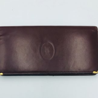 Cartier Must Leather Long Bi-Fold Wallet