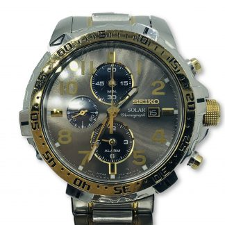 Seiko Solar Chronograph  Men's Watch