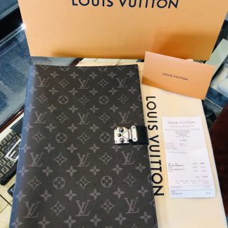 Louis Vuitton Franck Monogram Eclipse Folder