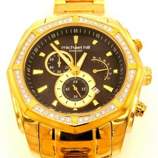 Michael Hill 0.50cts Diamond Chronograph Watch
