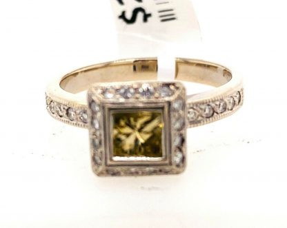 9ct White Gold 29 Stone Diamond Ring with Valuation