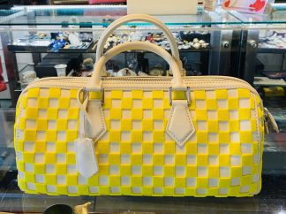Louis Vuitton Chenille Check Handbag