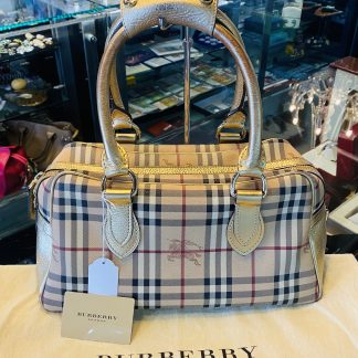 Burberry House Check Handbag