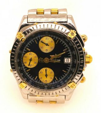 Breitling 18ct Gold/SS Chronomat Automatic Watch B13050.1