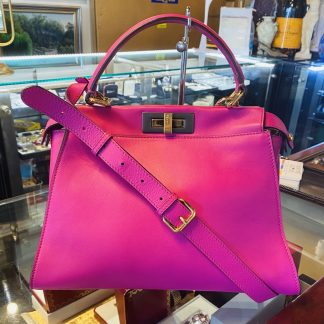Fendi Peekaboo Pink Medium Handbag