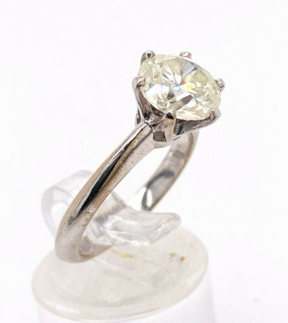 18ct White Gold 2.10ct Diamond Solitaire Ring