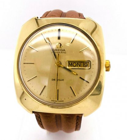 Omega De Ville 18ct Yellow Gold Automatic Watch