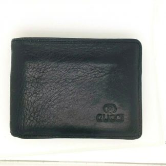 Gucci Men's Black Bi-Fold Wallet