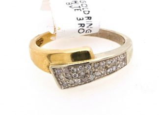 9ct Yellow Gold 28 Diamond Ring