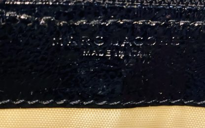 Marc Jacobs Black Patent Leather Wallet