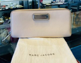 Marc by Marc Jacobs Pink Leather Wallet