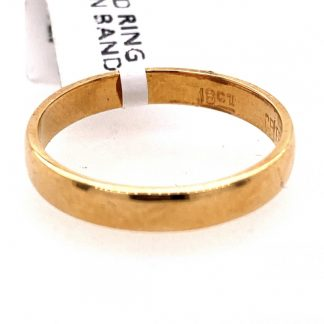 9ct Yellow Gold 3 Diamond Ring