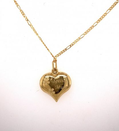 9ct Yellow Gold 'Special Mum' Necklace