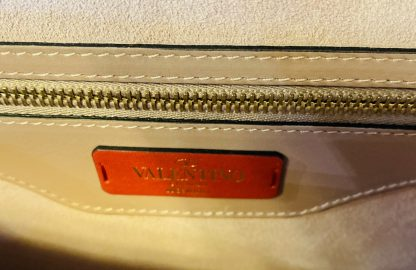 Valentino Garavani Demilune Leather Crossbody Bag