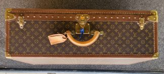 Mid-20th Century Louis Vuitton Monogram Canvas Suitcase, Circa 1960
