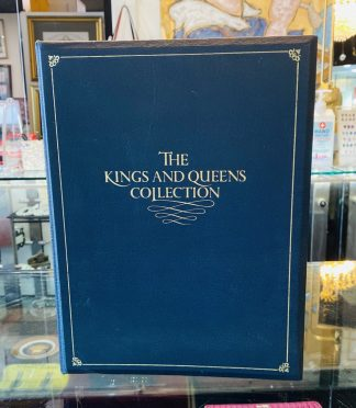 The Franklin Mint 43 Silver Medallion Kings & Queens Collection