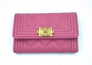 Chanel Boy Card Holder/Coin Purse