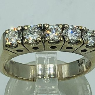 Tiffany & Co Platinum Solitaire 'Harmony' Ring with Valuation