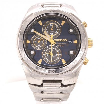 Seiko Sports Chronograph 7t62-0ea0 Men's Watch