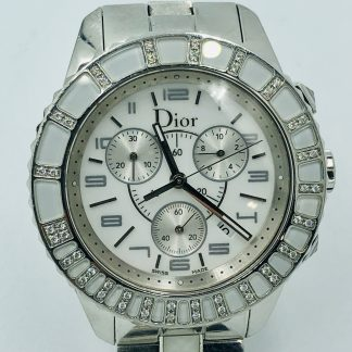 Christian Dior Christal CD114310 Diamond Watch with Valuation