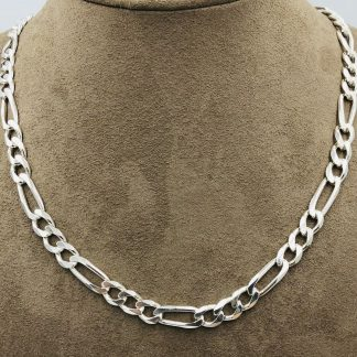 Sterling Silver Amber Choker Necklace