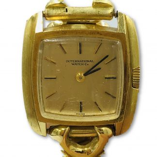 IWC Vintage 18ct Solid Yellow Gold Ladies Watch