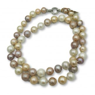 Multi Coloured Freshwater Baroque Pearl Necklace