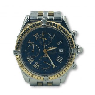 Breitling Crosswind 18ct Gold Chrongraph Automatic Watch D13055