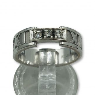 18ct White Gold 1.21ct Diamond Ring With Valuation $24,000