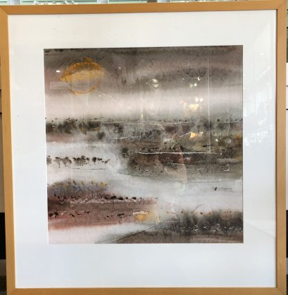 Ross Manning Water Colour Print Framed