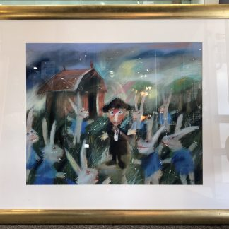 Original Geoffrey Proud Pastel Framed